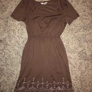 5th and Love dress with embroidered detail